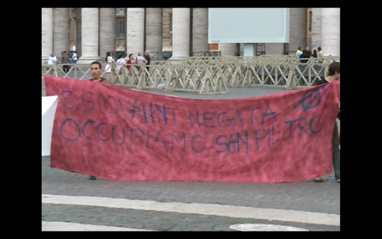 Facciamo Breccia, a piazza San Pietro